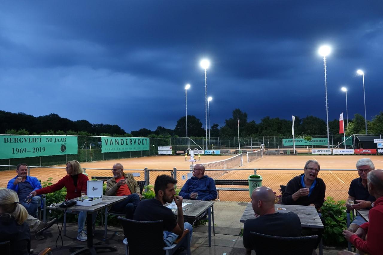 Tennisvereniging Bergvliet kijkt in coronatijd toch naar toekomst