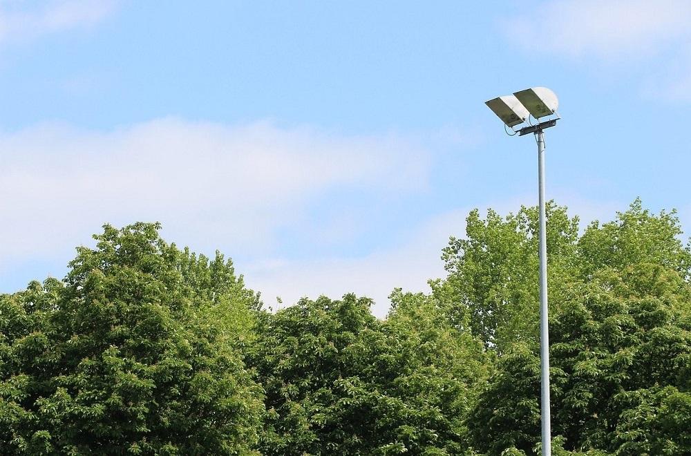 Nieuwe lichtinstallatie voetbalvereniging Schoonhoven