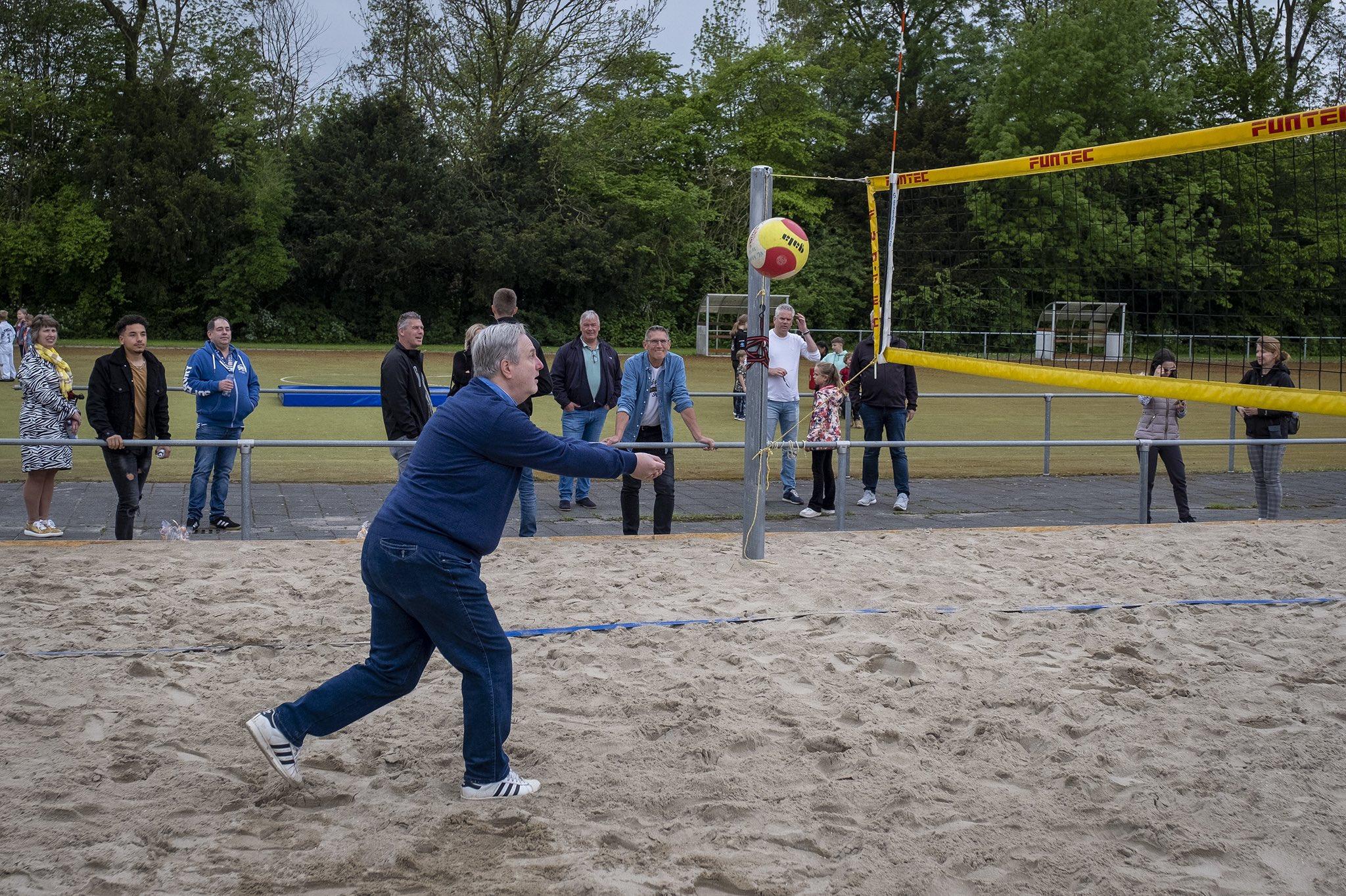 Beachvolleyballen kan deze zomer in Krimpen